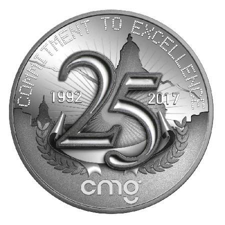 CMg - 25 Years - Commitment to Excellence