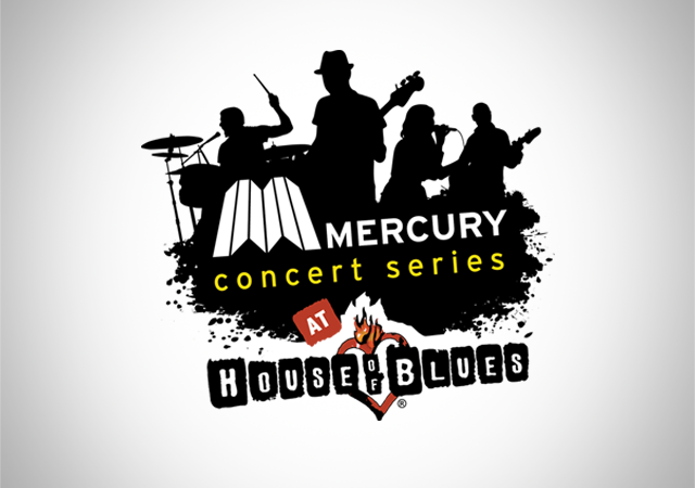 Mercury House of Blues concert series