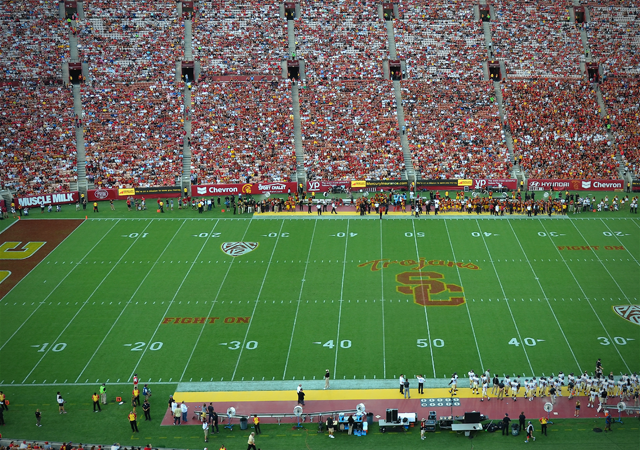 Mercury USC Football Field