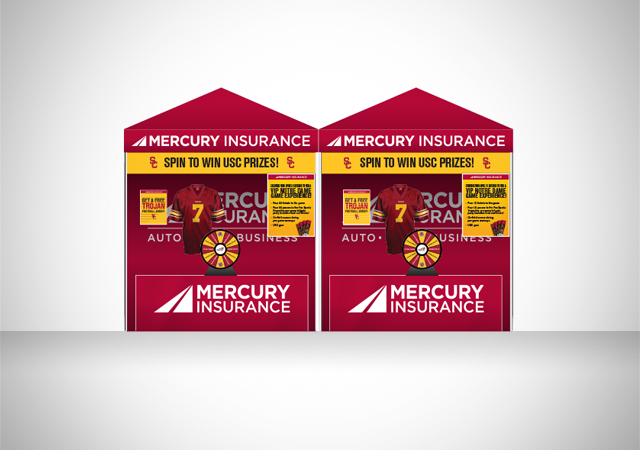 Mercury USC Football custom print