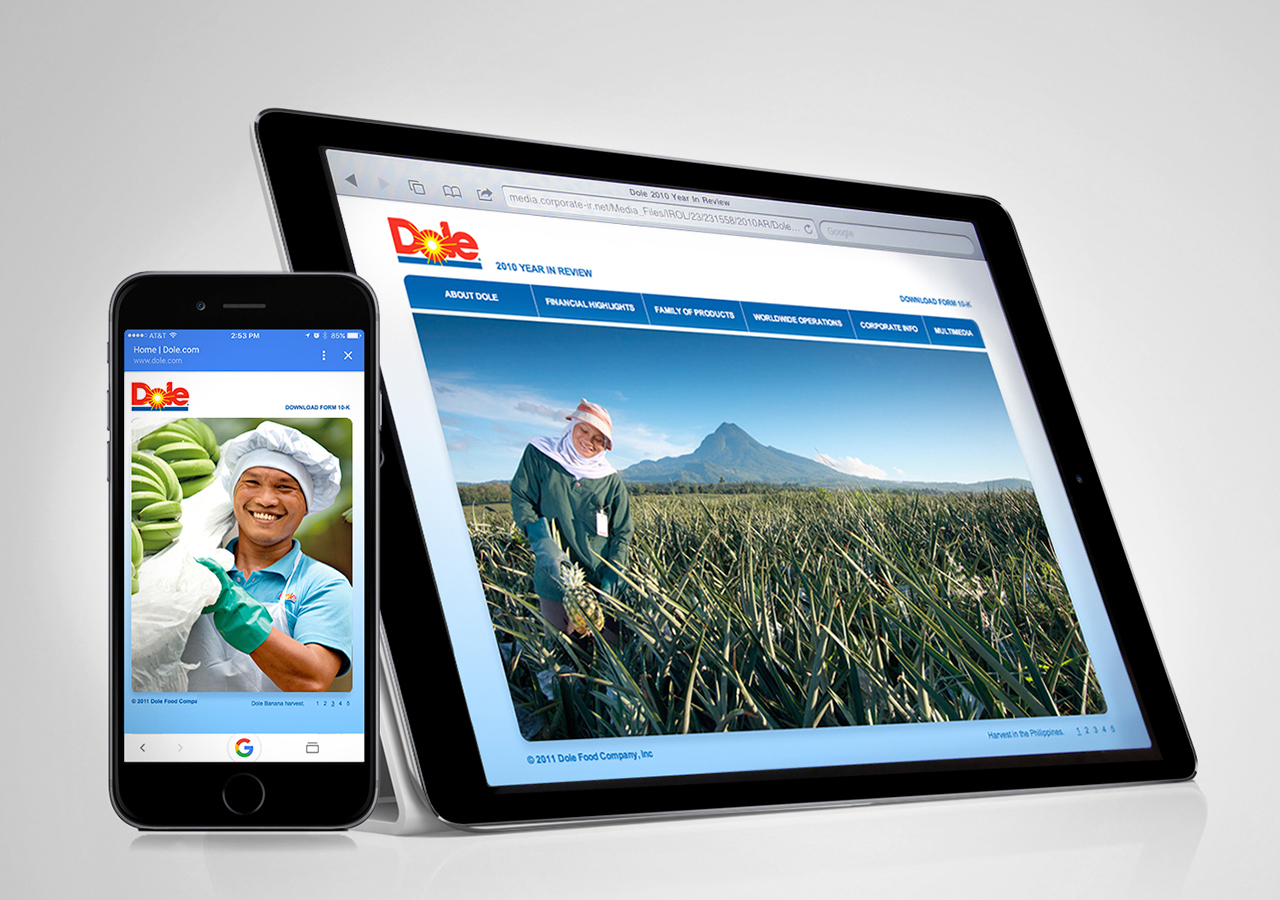 Dole Micro Website