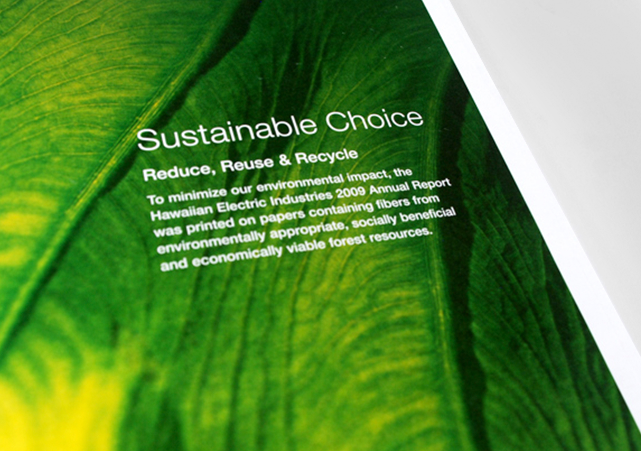 HEI Sustainability Report 2