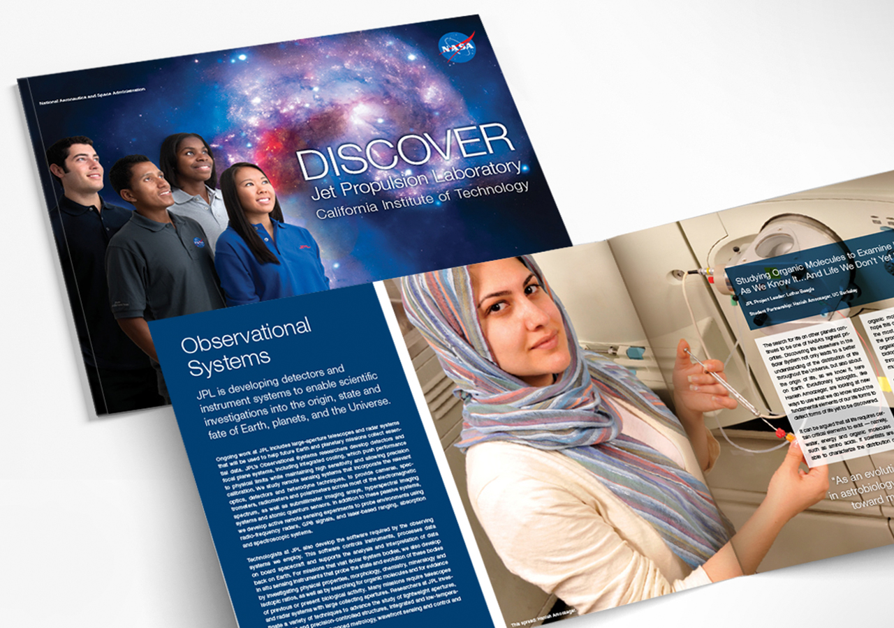 NASA JPL Student Research