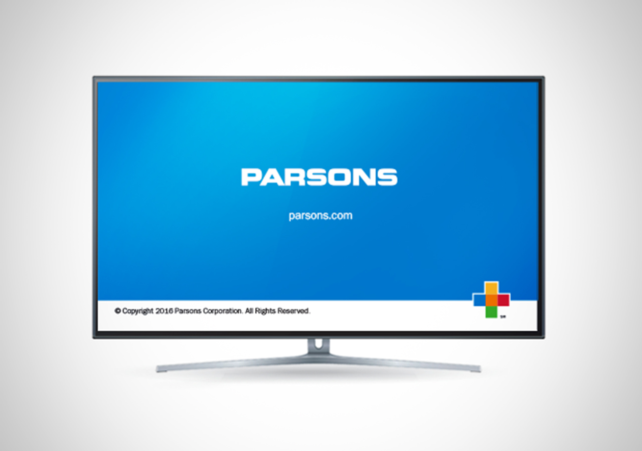 Parsons Rebrand Television
