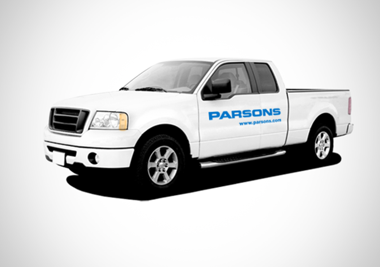 Parsons Rebrand Truck Graphics